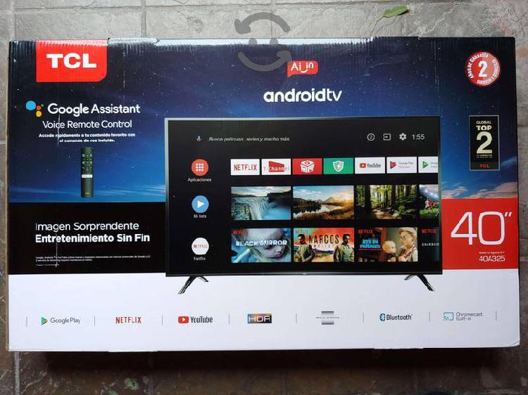 Pantalla televisión tcl 40 pulg android tv full hd