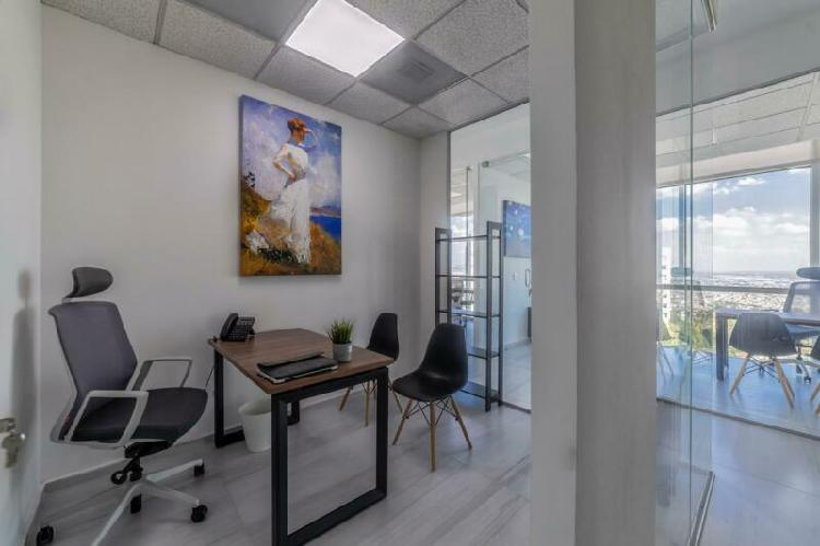 Renta oficina virtual con todo incluido en león, guanajuato