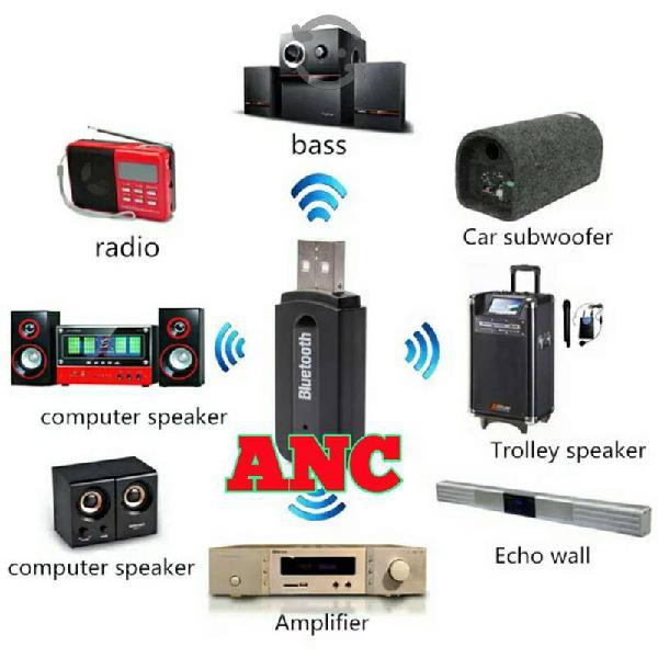 Receptor bluetooth usb audio auxiliar transmisor
