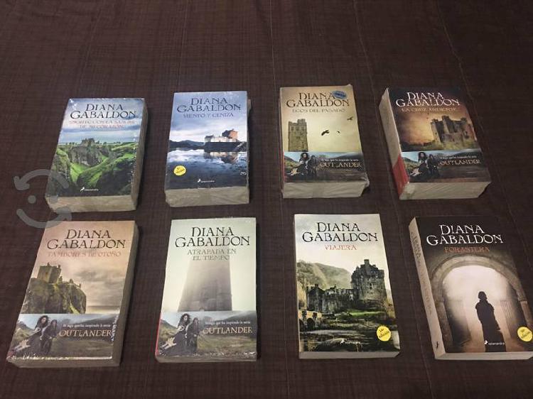 Saga completa outlander, forastera, 8 libros