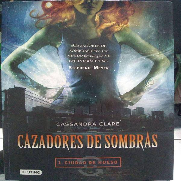 Saga de libros de cazadores de sombras completa