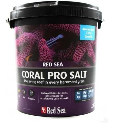 Sal red sea coral pro cubeta 55gal 200litros