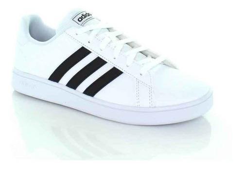 Sneakers joven, calzado de joven, blanco/negro, adidas,ads