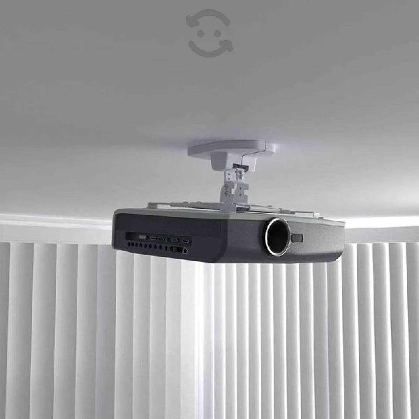 Soporte proyector inclinable para techo y pared