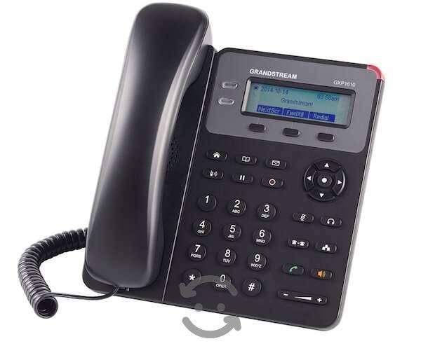 Teléfono ip grandstream gxp-1610 2 lines, 1 cuenta