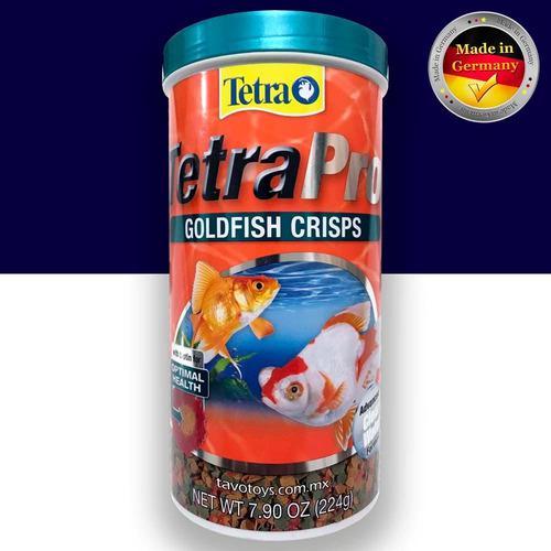 Tetra pro goldfish crisp alimento peces premium 224g aleman