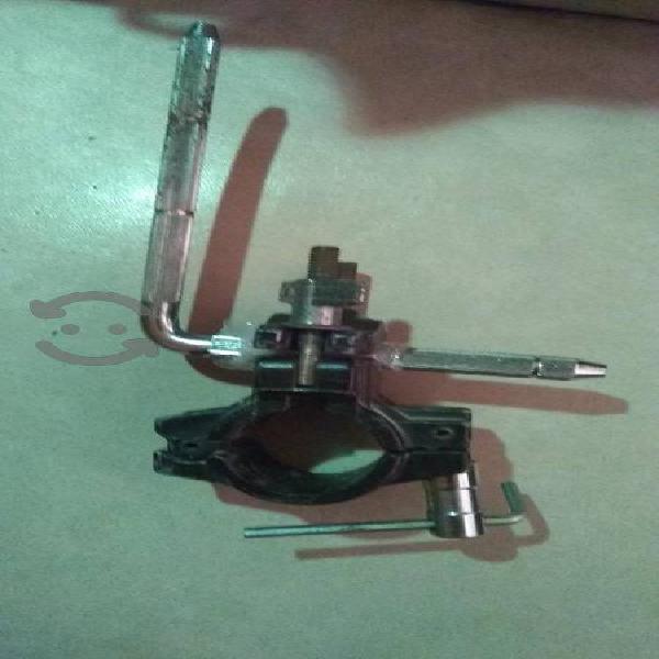 Clamp para rack de batería para poner tom