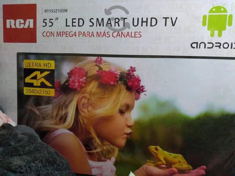 """Pantalla rca de 55"""" smart tv 4k ultra hd"""
