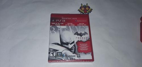 Batman arkham city ps3 (cementerio de los videojuegos retro)