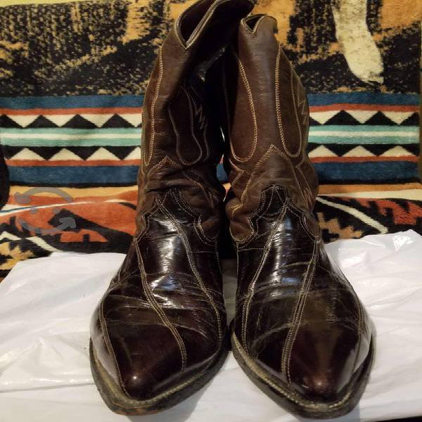 Botas de piel original mexicanas