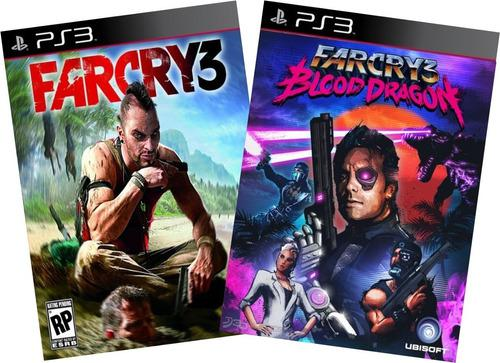 Far cry 3 + far cry blood dragon juegos ps3