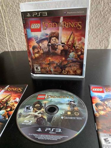 Juego play 3 the lords of the rings by lego disco físico