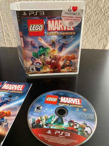 Juego playstation 3 marvel súper heroes by lego disco