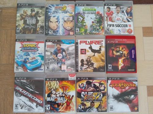 Juegos ps3 play station3. paq 6 juegos seminuevo. originales