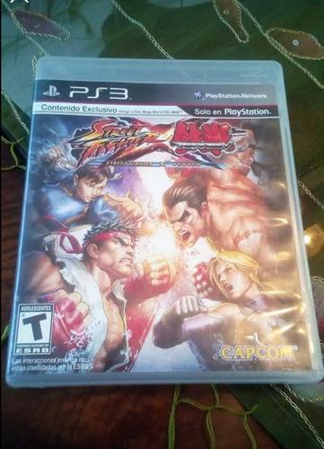 Juegos ps3 street fighter x tekken