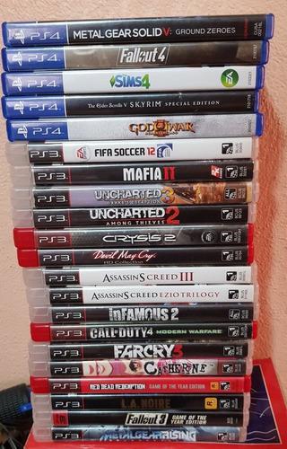 Lote juegos ps4 y ps3