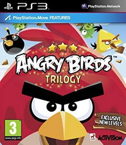 Ps3 move - angry birds trilogy - juego físico original