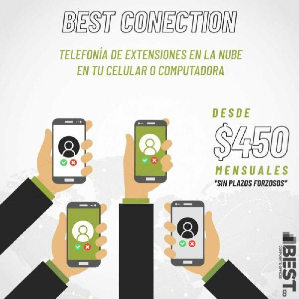 Quédateencasa home office phone desde $450.00 al mes sin