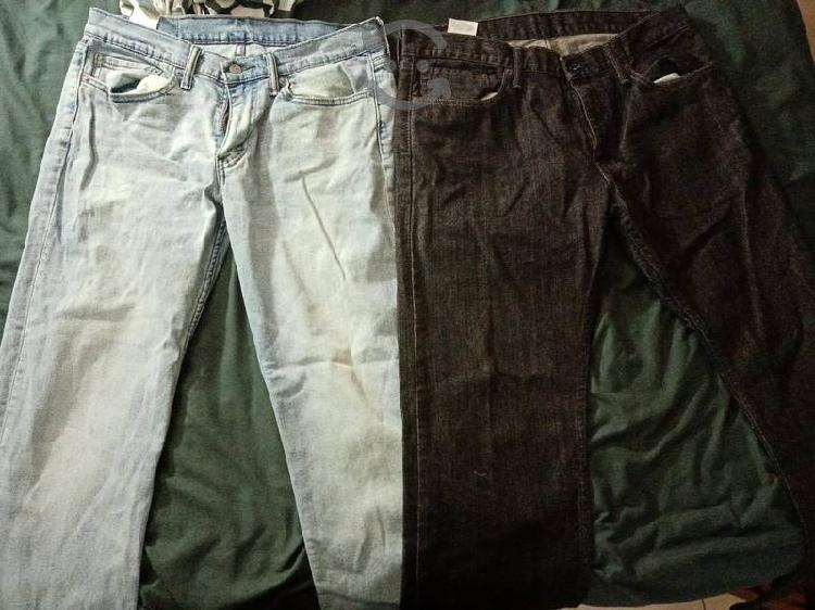 Pantalones levis modelo 514 con muy poco uso