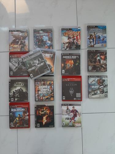 Remate! 10 juegos de ps3 playstation 3