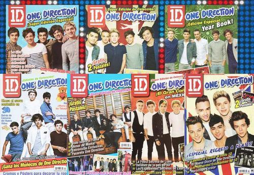 Colección completa revista one direction