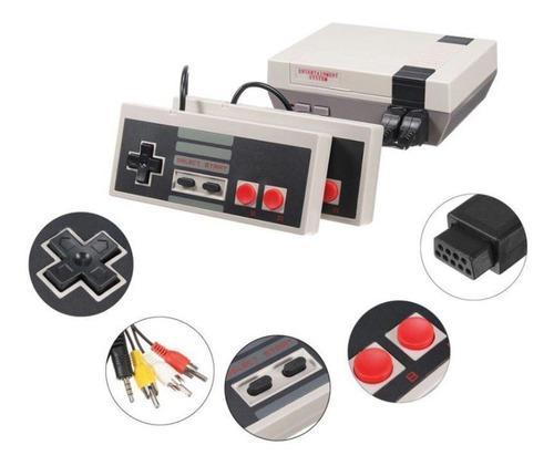 Consola retro videojuegos clásica 620 juegos 2 controles
