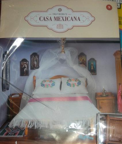 Crea y decora casa hacienda mexicana entrega fasciculo 9
