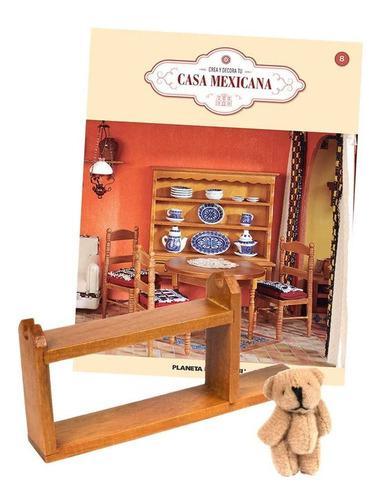 Crea y decora tu casa hacienda mexicana fasciculo entrega 8