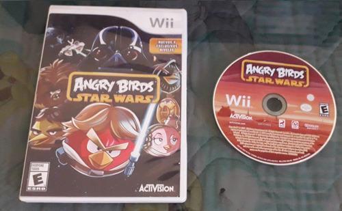 Juego angry birds star wars para consola nintendo wii
