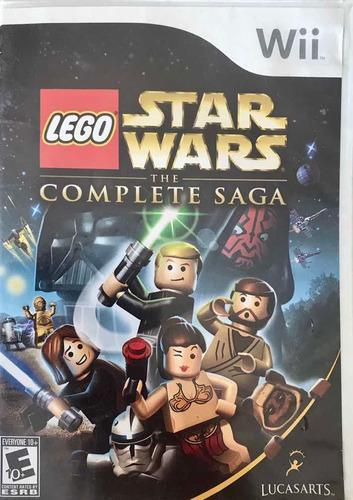 Juego para consola wii, star wars lego.