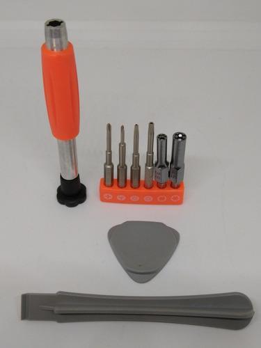 Kit de desarmadores reparación consolas videojuegos 9 en 1