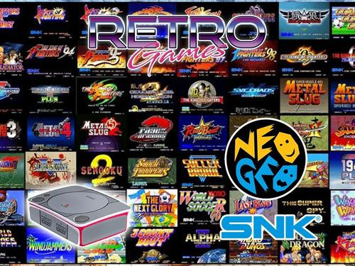 Mini consola con juegos de neo geo snk retromex
