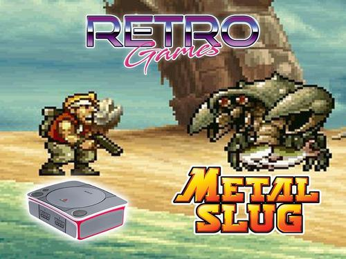 Mini consola con metal slug neo geo gba retromex