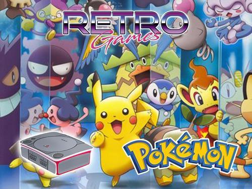 Mini consola pokemon game boy color advance n64 retromex