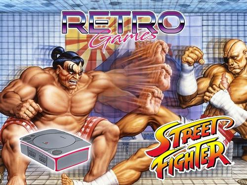 Mini consola street fighter mame snes genesis psp retromex