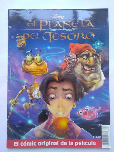 Revista comic original el planeta del tesoro disney 2002