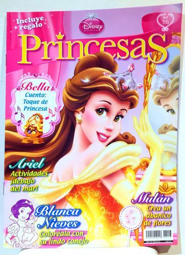 Revista Disney Princesas La Bella Y La Bestia 3