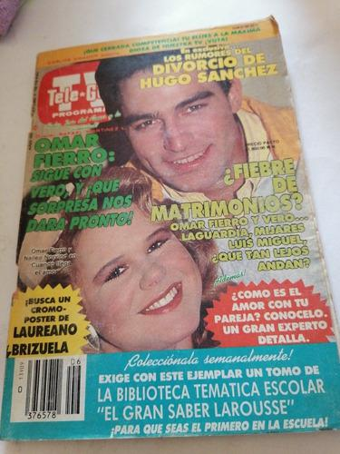 Revista Tele Guía / Omar Fierro: Sigue Con Vero, Y ¡que