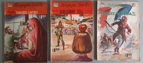 Revistas biografías selectas