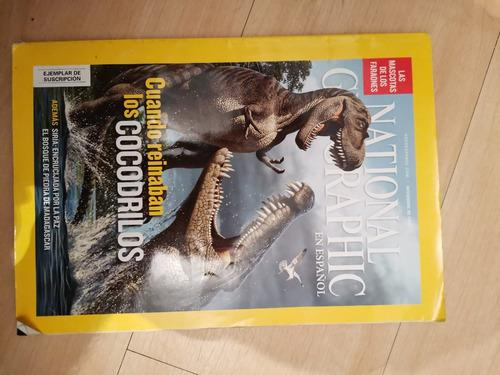 Revistas national geographic 3 pz