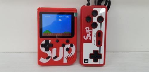Sup box consola videojuego retro portátil + 2p control