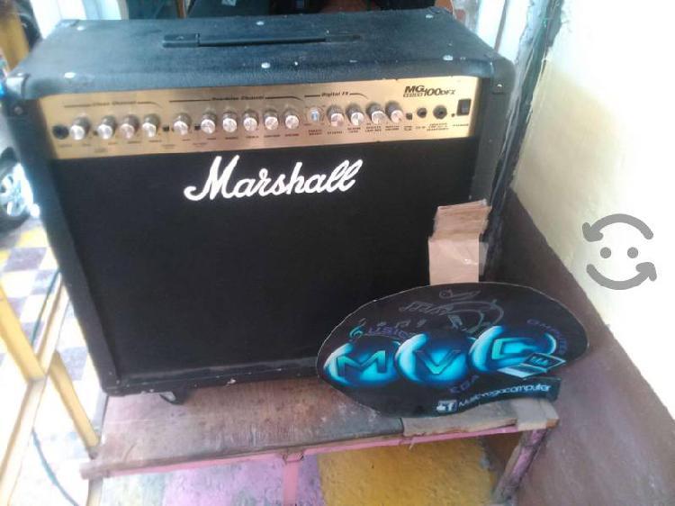 Amplificador para guitarra marshall mg100dfx 100w