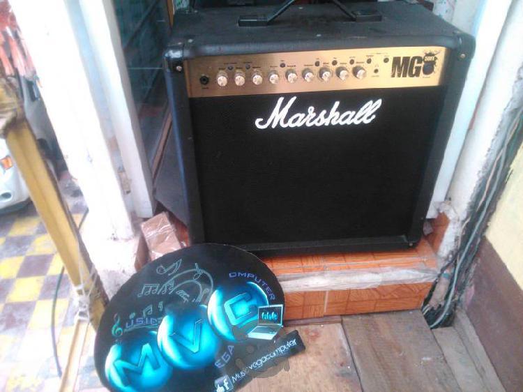 Amplificador para guitarra marshall mg50fx