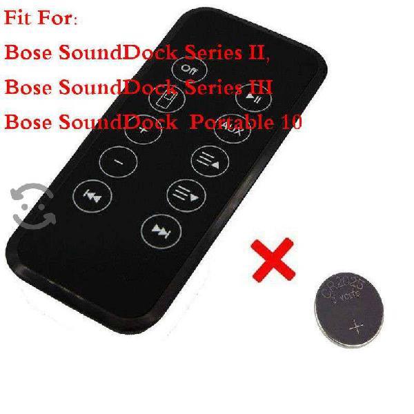 Control bose sounddock ii, iii 2 3 10 music system