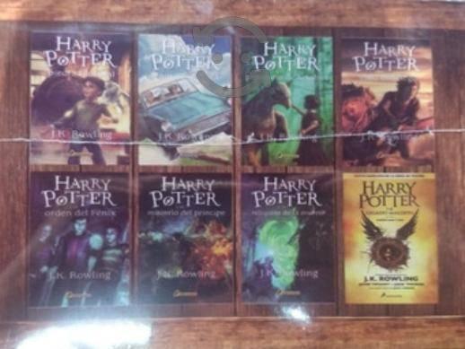 Harry potter edicion especial 8 libros