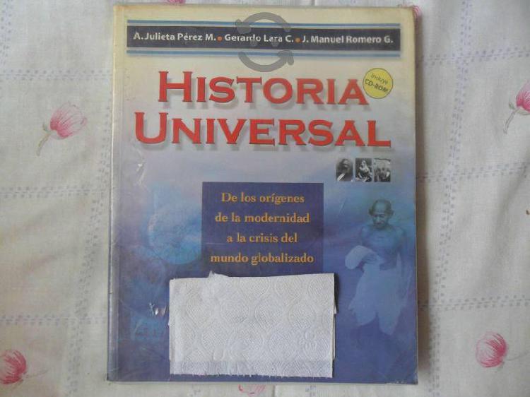 Libro historia universal de los orígenes de la mod