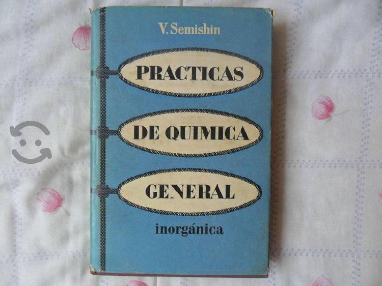 Libro prácticas de química general inorgánica