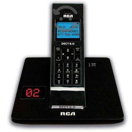 Teléfono inalambrico digital rca con identificador