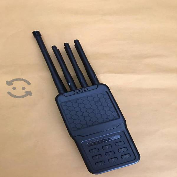 Equipo jammer de 8 antenas portátil digital