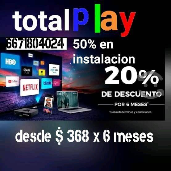 Internet + tv + apps + telefonia